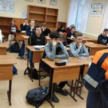 Открытый урок в ГАПОУ СО «Первоуральский металлургический колледж» по пожарной безопасности