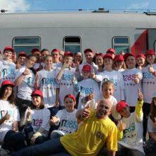 Первоуральские школьники отправились на «Поезде здоровья» к Черному морю