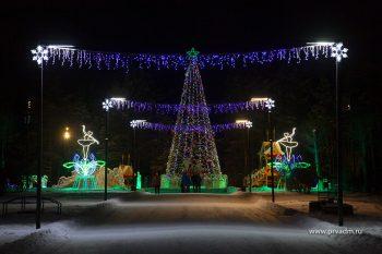 В новогоднюю ночь ледовый городок в Парке новой культуры будет открыт до 3 часов