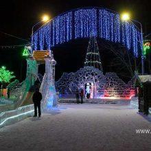 В Первоуральске откроются 5 новогодних городков и 12 елок