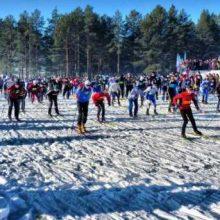 Первоуральские лыжницы оказались быстрее