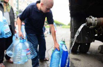 Изменился график подвоза питьевой воды