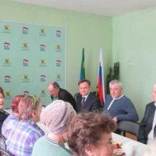 Чествование Совета ветеранов Новоуткинского СТУ