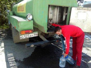 С 1 июня в Первоуральске начнется подвоз воды