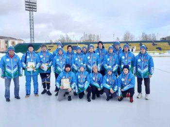 Юные хоккеисты ДЮСШ «Уральский трубник» взяли бронзу на Первенстве России
