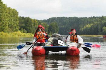 Экологический сплав «Чистая Чусовая России» объединил более 300 жителей Свердловской области