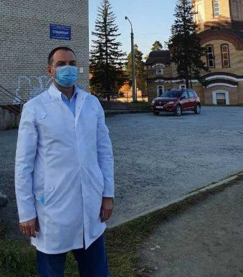 Главный врач Первоуральской больницы призывает горожан носить маски