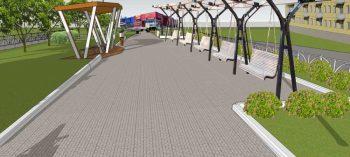 Студенческий проект благоустройства аллеи по улице Советская примет участие в рейтинговом голосовании за включение в нацпроект «Жильё и городская среда»