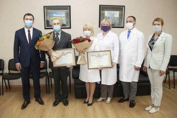 Первоуральские медики получили грамоты Законодательного Собрания Свердловской области