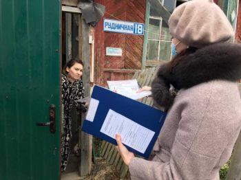 Профилактический рейд в частный жилой сектор г.  Первоуральск