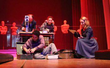 В театре «Вариант» состоялась официальная премьера четвертой главы «Сказаний о земле Уральской» «Оттепель».