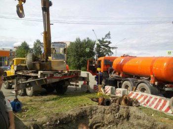 В Первоуральске продолжаются работы по обновлению водоводов