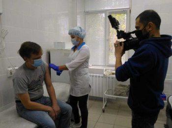 Прививки от гриппапоставили больше 41 тысячи первоуральцев