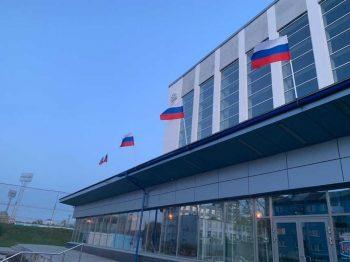 """Первоуральск присоединился к акции """"Флаги России. 9 мая"""""""