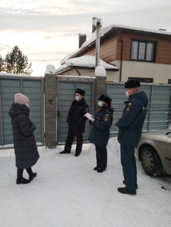 Профилактический рейд в частные дома для престарелых г.  Первоуральска