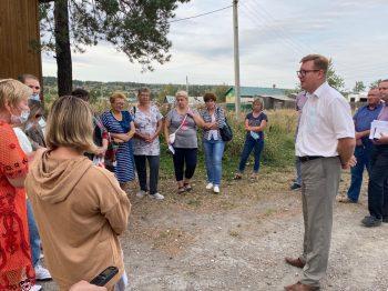 Игорь Кабец провел очередную встречу с жителями сельских территорий