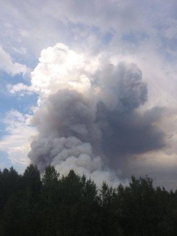 Все крупные пожары в Первоуральске локализованы