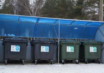 220 контейнерных площадок для сбора ТКО обустроят в городском округе в этом году