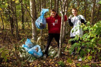Участники «Чистых игр» собрали более 5 тонн мусора в Первоуральске