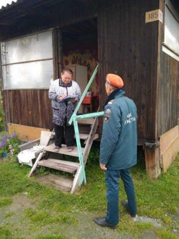 Профилактический рейд в садовые некоммерческие товарищества городского округа Первоуральск