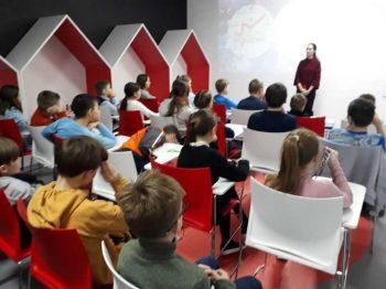 Встреча с воспитанниками технопарка «Кванториум г. Первоуральск»