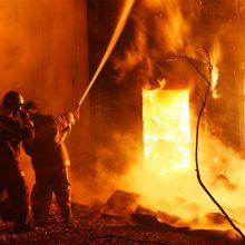 Статистика пожаров за Новогодние праздники в ГО Первоуральск