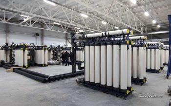Новая насосно-фильтровальная станция Первоуральска теперь может очищать больше 20 тысяч кубометров воды в сутки