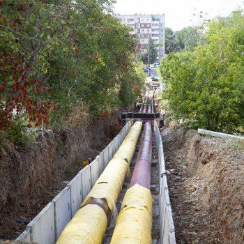 В Первоуральске завершается реконструкция магистральной теплотрассы на улице Советской