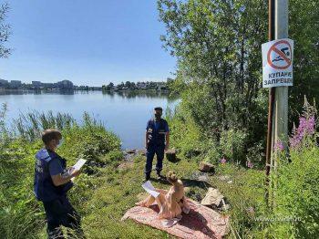 Межведомственные группы патрулируют водоемы Первоуральска