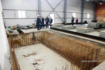 На насосно-фильтровальной станции в Первоуральске приступили к монтажу внутренних сетей
