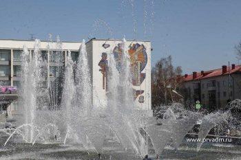 Первоуральский фонтан готов к тестовому запуску