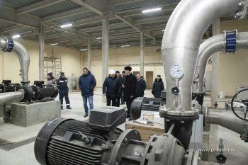 В конце года в Первоуральске запустят первый блок насосно-фильтровальной станции