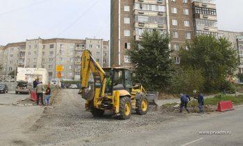 В Певроуральске завершается ремонт межквартальных проездов