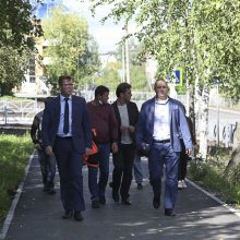 Глава Первоуральска Игорь Кабец оценил качество ремонта улиц Строителей и Данилова