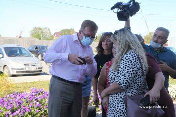 Игорь Кабец встретился с посетителями ФОКа в посёлке Билимбай
