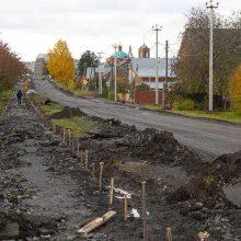 В рамках дорожного ремонта на улице III Интернационаламеняют водоотводы
