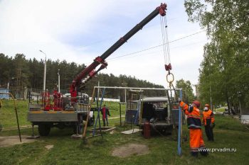В этом году в Первоуральске установят 4 детских игровых площадки