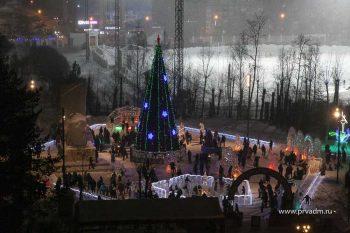 В будущем ледовом городке – изменения
