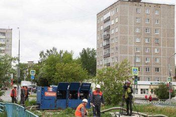 В Первоуральске начались опрессовки