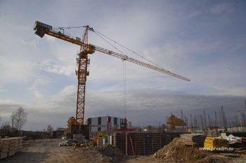 В строящейся школе в Билимбае уже начали заливку пола первого этажа