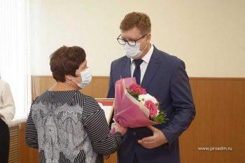 В Первоуральске прошло чествование волонтёров, которые помогают горожанам в период пандемии COVID-19