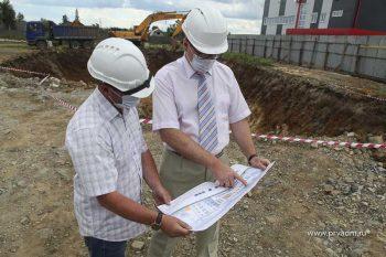 В посёлке Билимбай начались подготовительные работы к строительству новой школы