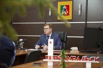 Глава Первоуральска Игорь Кабец провёл пресс-конференцию, посвященную итогам 2020 года