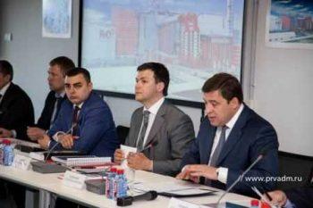 Алексей Дронов представил Евгению Куйвашеву поэтапную программу развития городского округа «Первоуральск 300»