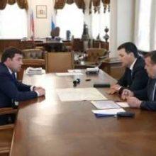 Губернатор и Алексей Дронов обсудили планы по ремонту городских дорог
