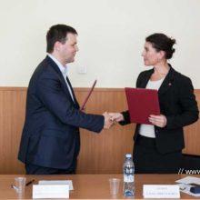 Елена Артюх и Алексей Дронов подписали соглашение о сотрудничестве