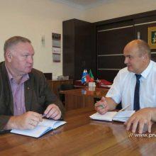 Первоуральск посетил директор департамента лесного хозяйства