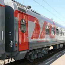 Поезд «Тюмень-Санкт-Петербург» прибывает в Первоуральск