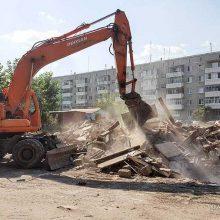 В Первоуральске продолжается работа по благоустройству дворов