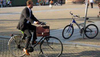 Первоуральск присоединился к акции «На работу на велосипеде»